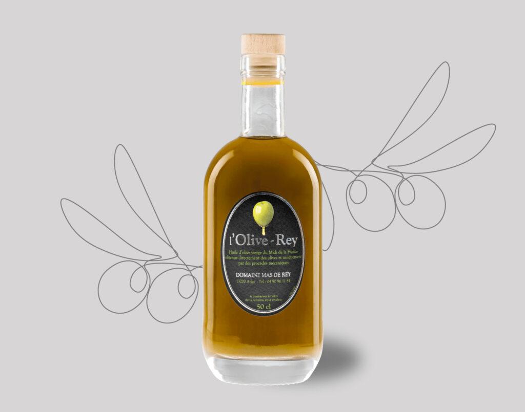 Huile d'olive du Domaine du Mas de Rey