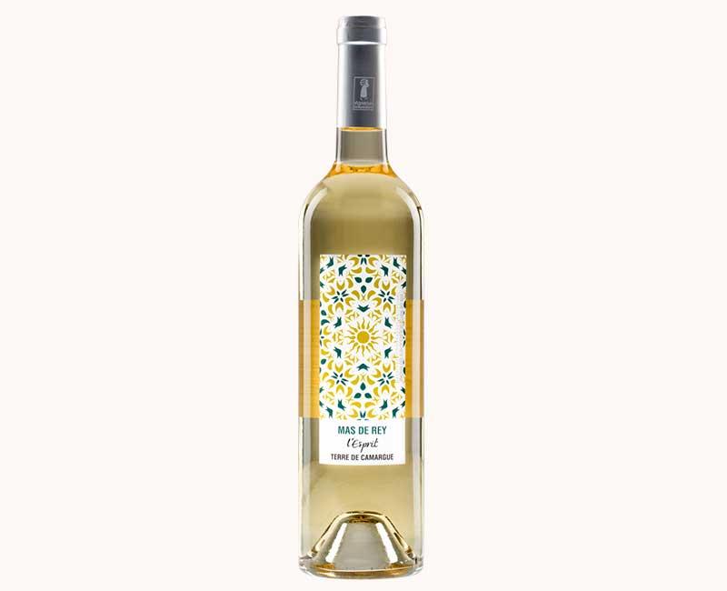 Montrer la vue de face du vin blanc Esprit du Domaine du Mas de Rey