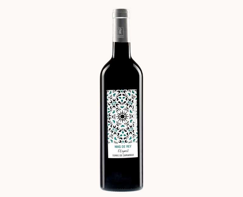 Montrer la vue de face du vin rouge Esprit du Domaine du Mas de Rey