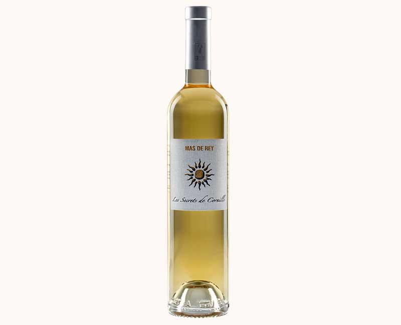 Montrer la vue de face du vin blanc Secrets de Cornille du Domaine du Mas de Rey