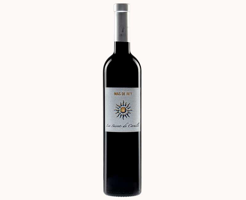 Montrer la vue de face du vin rouge Les Secrets de Cornille du Domaine du Mas de Rey