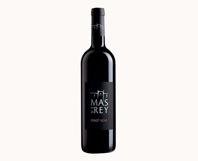 Montrer la vue de face du Pinot Noir du Domaine du Mas de Rey